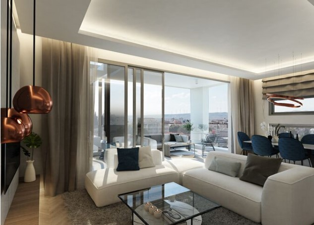 For Sale: Apartment (Penthouse) in City Area, Larnaca  | Key Realtor Cyprus
