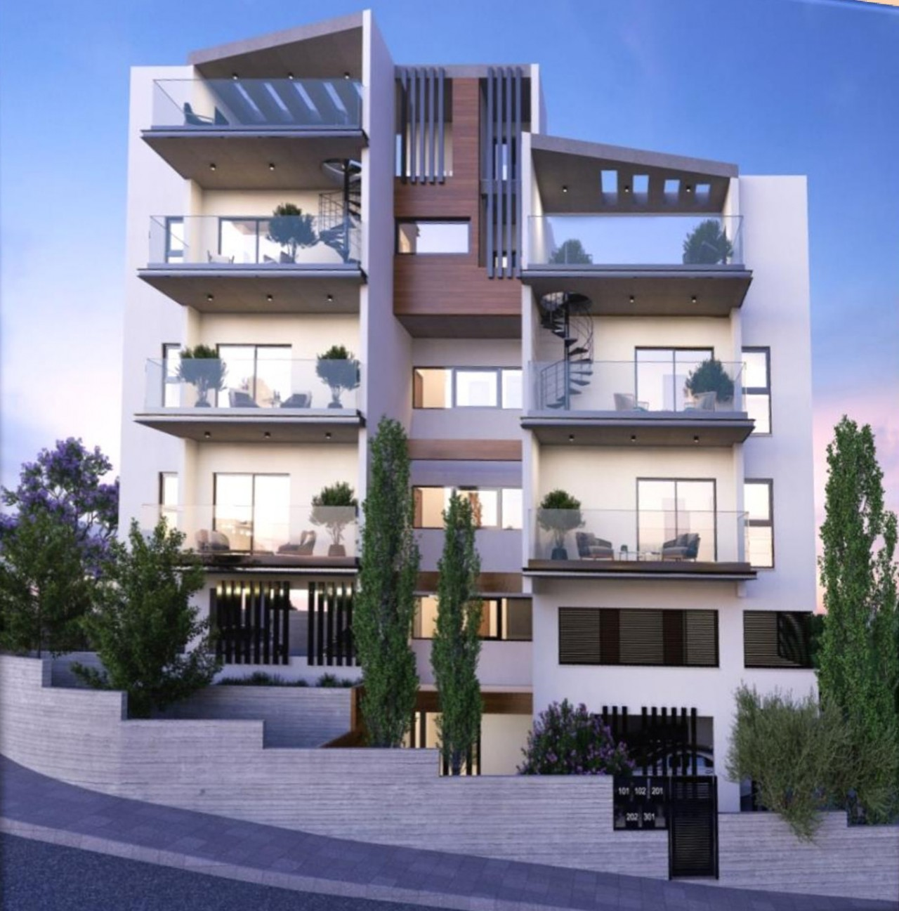 For Sale: Apartment (Penthouse) in Panthea, Limassol  | Key Realtor Cyprus